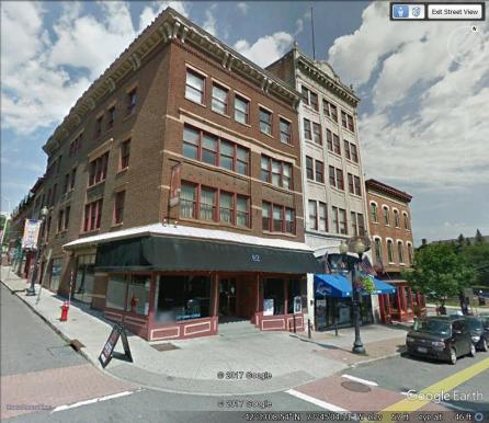 82 North Pearl Street corner perspective