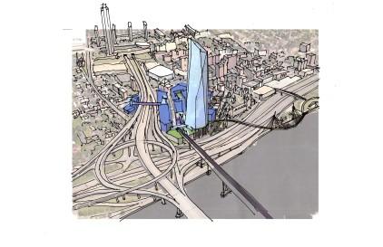 Amazon Superimposed Sketch & Model_02