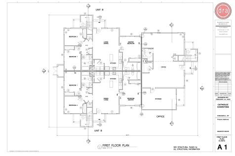 Catholic Charities Granite A1 First Floor Plan_B unit_6 Plex