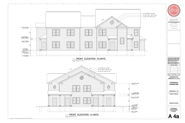 Catholic Charities Granite A4a Exterior Elevations