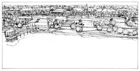 Sarasota Apartments CELERY FIELDS MP - Concept Aerial Sketch