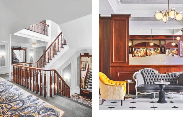 Adelphi Hotel Featured in Interior DesignMagazine